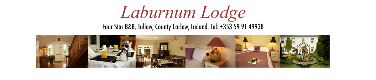 Laburnum Lodge Bed & Breakfast, Tullow, County Carlow, Ireland, South East, four star B&B